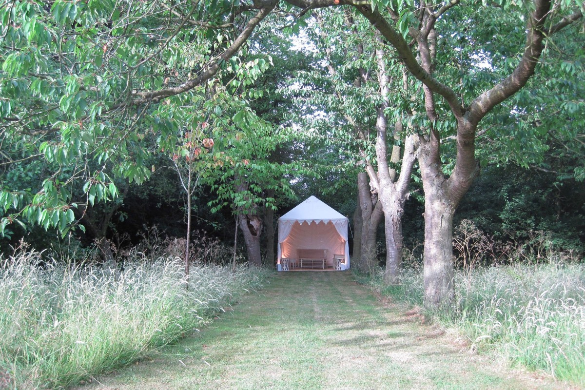 Tents for smaller gatherings  2