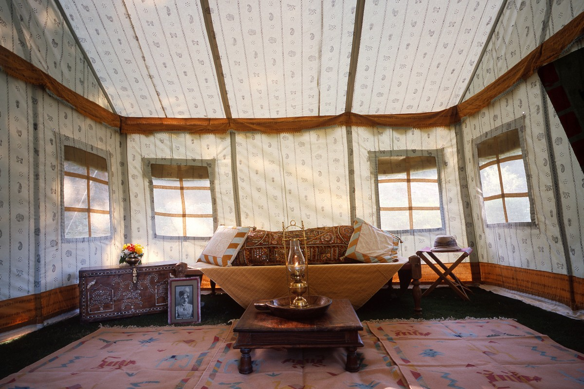Tented camp Lilypond tent interior