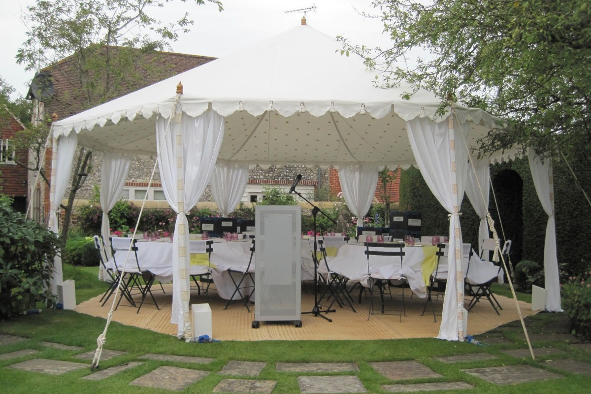 Tents for smaller gatherings 34