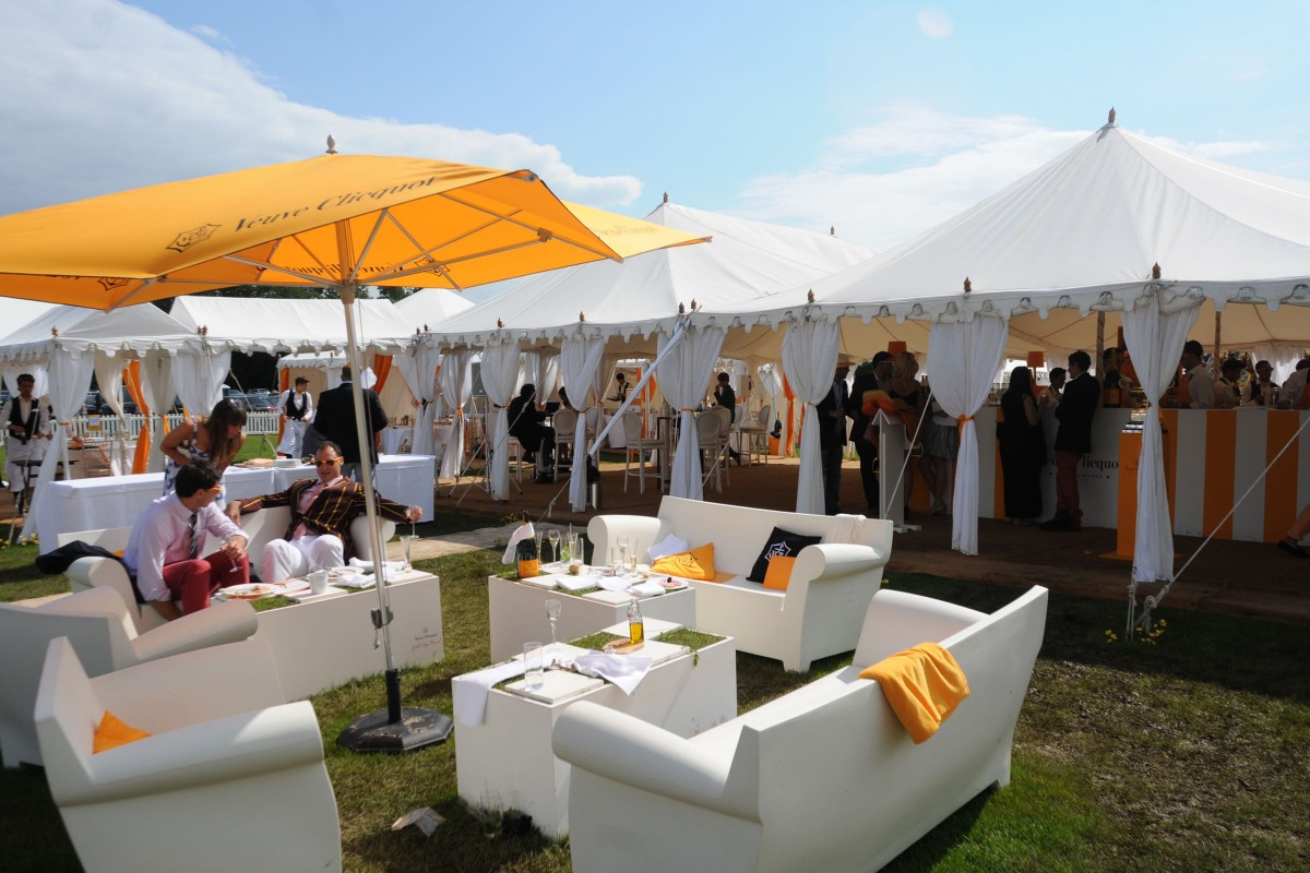 Corporate Gallery 9, for Veuve Cliquot at Cowdray