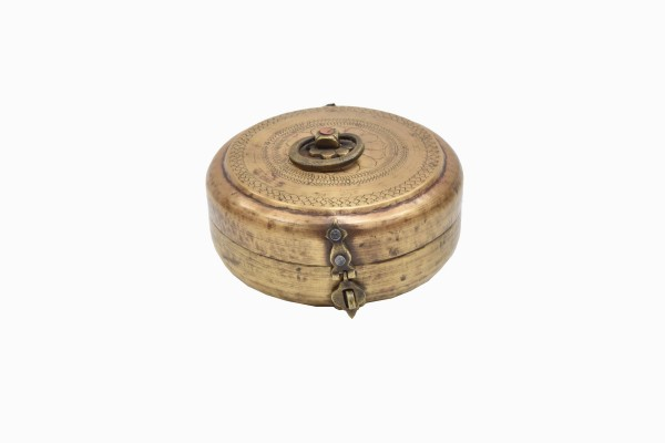 Indian brass spice container Ref 11