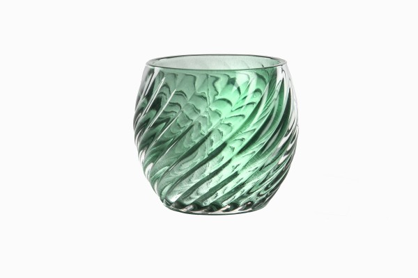 Swedish green glass votives Ref 5
