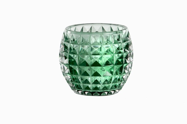 Swedish green glass votives Ref 4