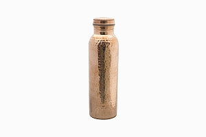 Hammered copper bottle 500ml