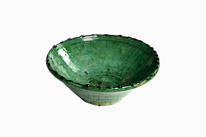 Medium bumpy rim Zagora bowl 25cm