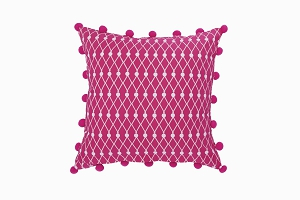 Net Block cushion front view