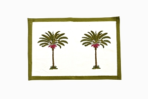 Palm tree table mats