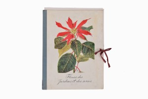 French book of flower prints