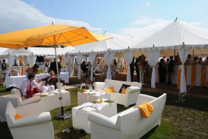 Triple Maharaja for the Veuve Clicquot Polo Gold Cup at Cowdray Park