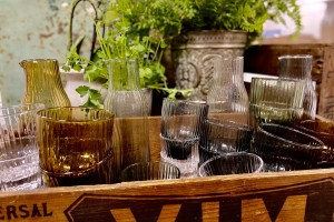 Styling shot glassware