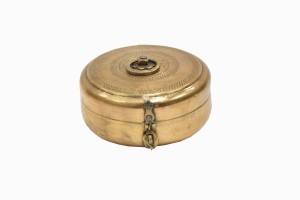 Indian brass spice container Ref 14