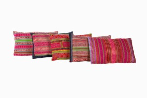 North East Indian rectangular cushions