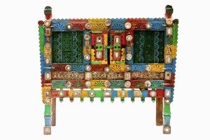 Gujurati painted dowry chest