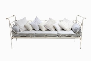 Deauville metal daybed