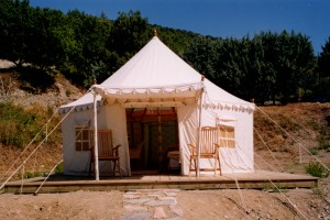 Tented camp Bhurj tent