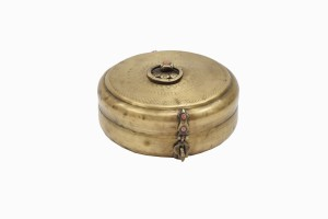 Indian brass spice container Ref 12