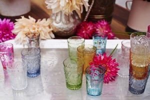 Styling shot rental glassware