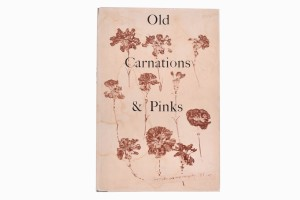 Old carnation and prints book