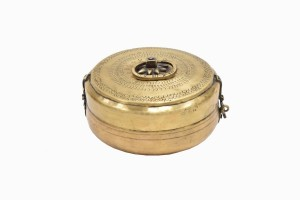 Indian brass spice container Ref 10