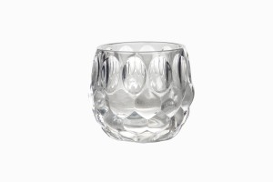 Swedish clear glass votive Ref 2