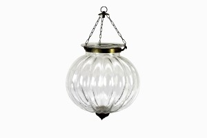 Clear glass Hundi light