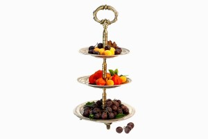 Fruit/Petits Fours stand