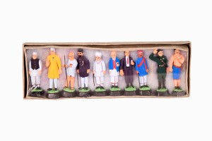 Indian miniatures Politicians