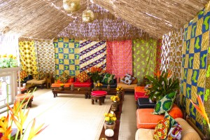 Venue pic African party at private address Mayfair