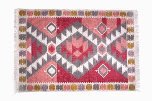 Washable recycled rug R44