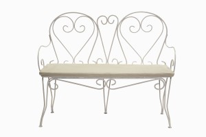 Deauville heart three seater sofa