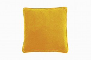 Curry velvet SQ cushion SOLD OUT