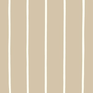 Taupe and cream stripe wall